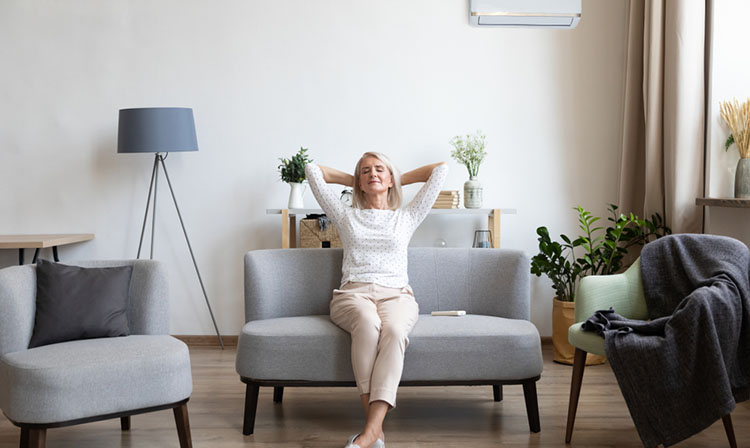 air conditioner repels mosquitoes