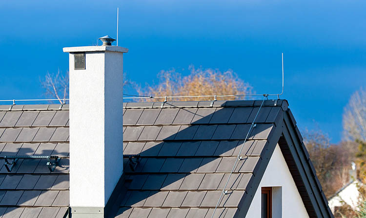 lightning protection system from home protects your air conditioner