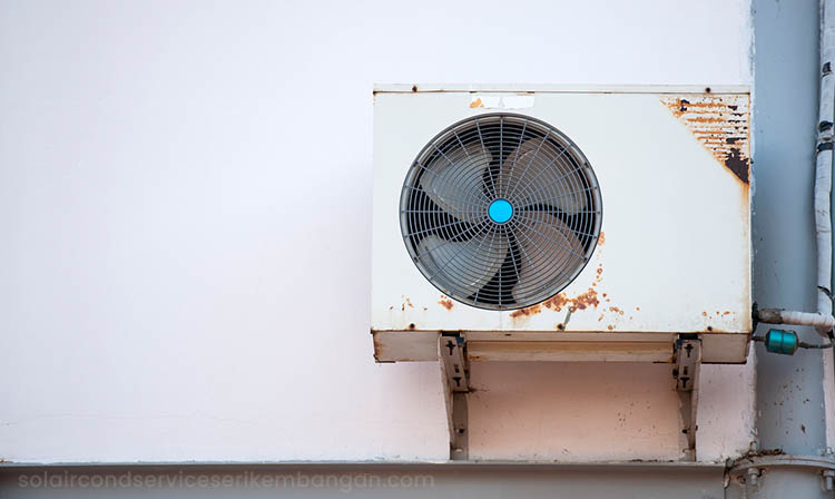 old air conditioner do not cool as new ones