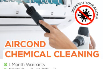 aircon chemical cleaning price rm130
